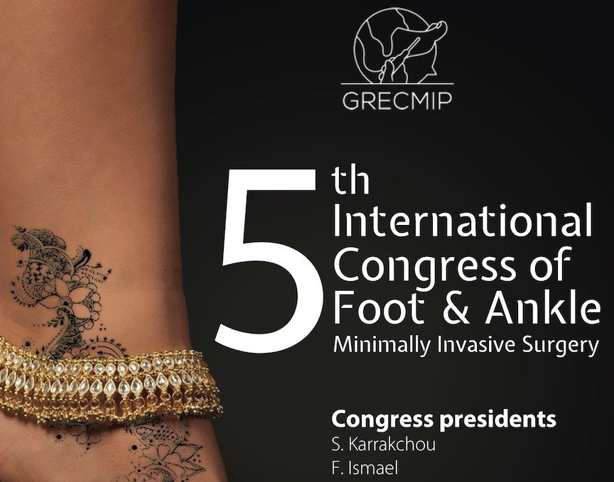 Head 5th International Congress of foot 2019